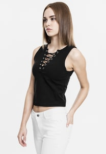 Urban Classics TB1631 - Dames Veters Korte Top