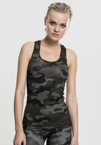 Urban Classics TB1666 - Ladies Camo Top