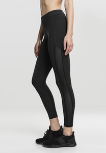 Urban Classics TB1736 - Leggings donna Tech Mesh Stripe