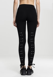 Urban Classics TB1737 - Ladies Laced Up Back Leggings
