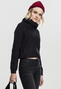Urban Classics TB1748 - Ladies Short Turtleneck Sweater