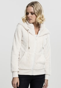 Urban Classics TB1751 - Ladies Teddy Zip Hoody