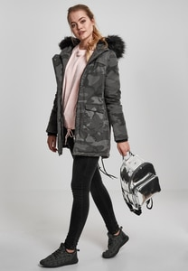 Urban Classics TB1761 - Ladies Overdyed Camo Parka