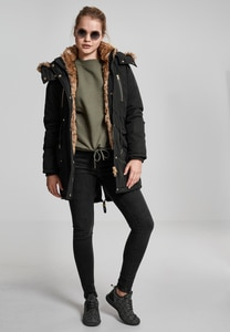 Urban Classics TB1762 - Ladies Imitation Fur Parka