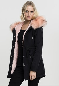 Urban Classics TB1763 - Parka donna Peached Teddy Lined