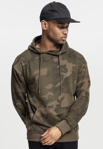 Urban Classics TB1781 - High Neck Camo Hoody