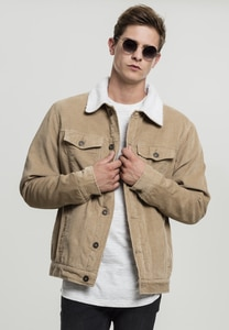 Urban Classics TB1797 - Sherpa Corduroy Jacket