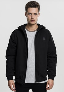 Urban Classics TB1805 - Hooded Cotton Zip Jacket