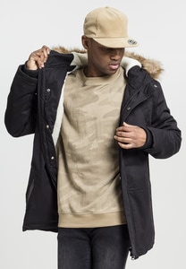 Urban Classics TB1814 - Heavy Cotton Imitation Fur Parka