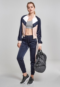 Urban Classics TB1856 - Ladies Short Raglan Track Jacket