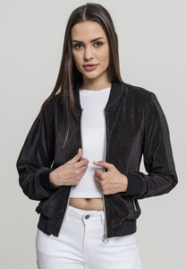 Urban Classics TB1954 - Ladies Short Pleated Blouson