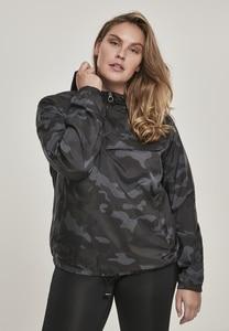 Urban Classics TB2015 - Ladies Camo Pull Over Jacket