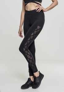 Urban Classics TB2024 - Ladies Ribbon Mesh Leggings