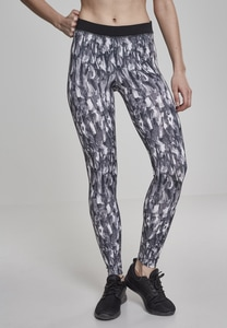 Urban Classics TB2038 - Ladies Active Graphic Leggings