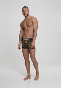Urban Classics TB2047 - 2-Pack Camo Boxer Shorts