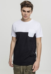 Urban Classics TB2055 - Color Block Summer Pocket Tee