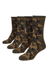 Urban Classics TB2161 - Camo Socks 2-Pack
