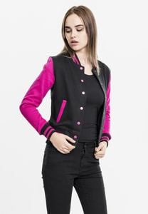 Urban Classics TB218 - Ladies 2-tone College Sweatjacket