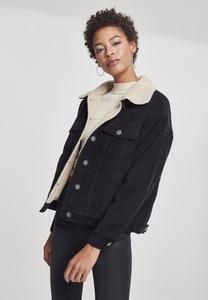 Urban Classics TB2376 - Ladies Oversize Sherpa Corduroy Jacket
