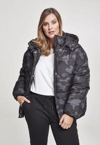 Urban Classics TB2379 - Ladies Boyfriend Camo Puffer Jacket