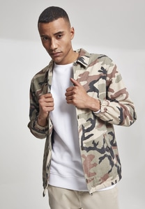 Urban Classics TB2418 - Camo Cotton Coach Jacket