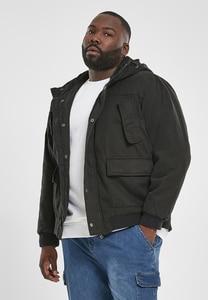 Urban Classics TB2422 - Chaqueta de algodón con capucha