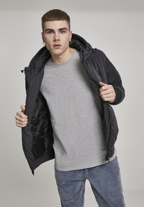 Urban Classics TB2427 - Hooded Peach Puffer Jacket
