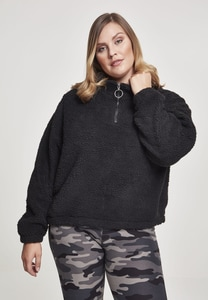 Urban Classics TB2449 - Ladies Short Sherpa Troyer