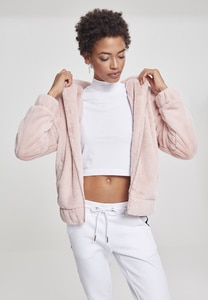 Urban Classics TB2450 - Ladies Teddy Jacket
