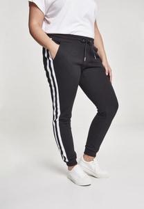 Urban Classics TB2453 - Pantalón deportivo universitario para mujer contraste