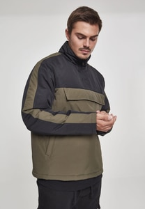 Urban Classics TB2483 - 2-Tone Padded Pull Over Jacket