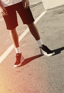 Urban Classics TB2576 - Printed High Canvas Sneaker