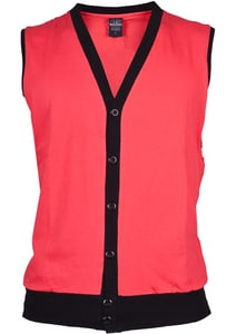 Urban Classics TB261 - Jersey Button Vest