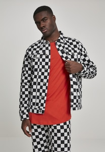 Urban Classics TB2738 - Check Twill Jacket