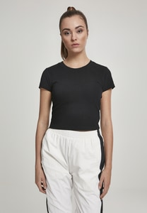 Urban Classics TB2754 - Ladies Stretch Jersey Stretch Tee Cropped Tee