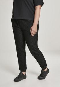 Urban Classics TB2804 - Ladies Lace Jersey Jog Pants