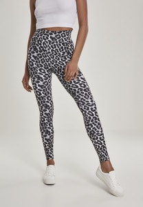 Urban Classics TB2810 - Ladies AOP High Waist Leggings