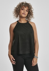 Urban Classics TB2991 - Ladies Peached Rib Neckholder Tank