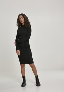 Urban Classics TB2996 - Ladies Peached Rib Dress LS