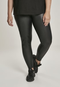 Urban Classics TB3001 - Ladies Faux Leather High Waist Leggings