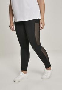 Urban Classics TB3005 - Ladies Mesh Side Stripe Leggings