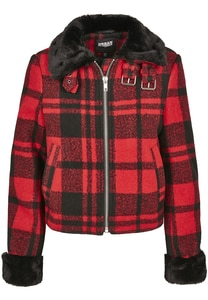 Urban Classics TB3052 - Ladies Plaid Jacket