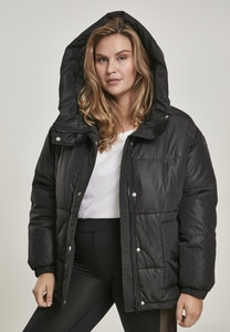 Urban Classics TB3067 - Ladies Oversized Hooded Puffer