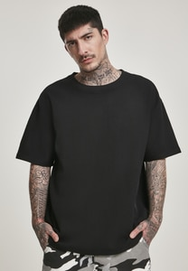 Urban Classics TB3090 - T-shirt grande taille gaufré