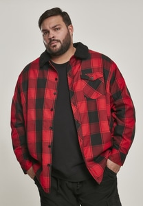Urban Classics TB3133 - Sherpa Lined Shirt Jacket