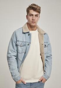 Urban Classics TB3140 - Sherpa Lined Jeans Jacket