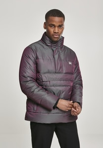 Urban Classics TB3153 - Shimmering Pull Over Puffer Jacket