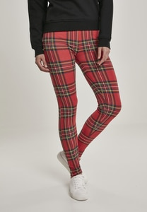 Urban Classics TB3225 - Ladies AOP Tartan Leggings