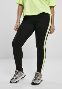 Urban Classics TB3408 - Ladies Neon Side Stripe Leggings