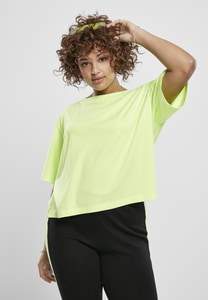 Urban Classics TB3412 - Ladies Short Oversized Neon Tee